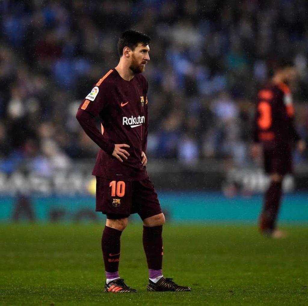 Foto: Barcelona Dibungkam Espanyol