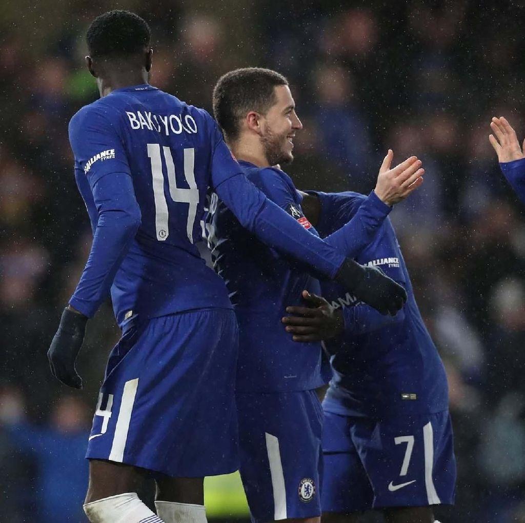 Menang Adu Penalti, Chelsea Lolos ke Babak Keempat Piala FA