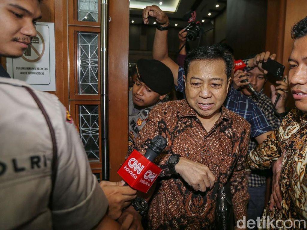 Setya Novanto Ikut Bicara soal Calon Ketua Fraksi Golkar