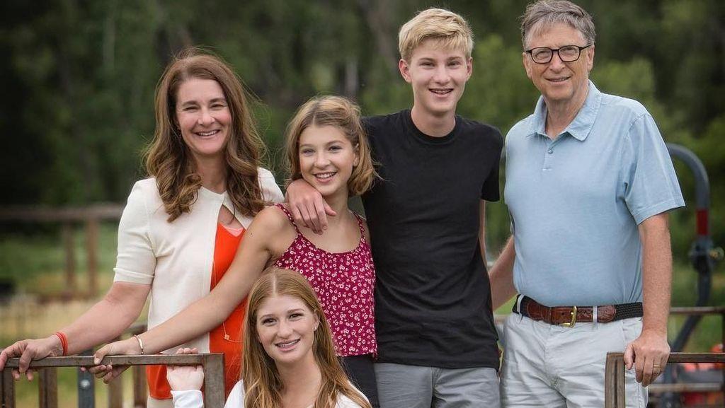 Putra Putri Bill Gates yang Menderita