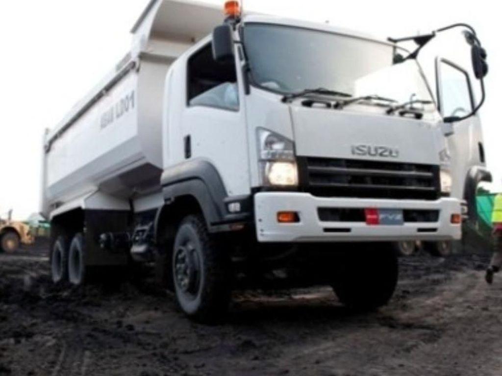 Penjualan Kendaraan Niaga Isuzu Meningkat Berkat Proyek Infrastruktur