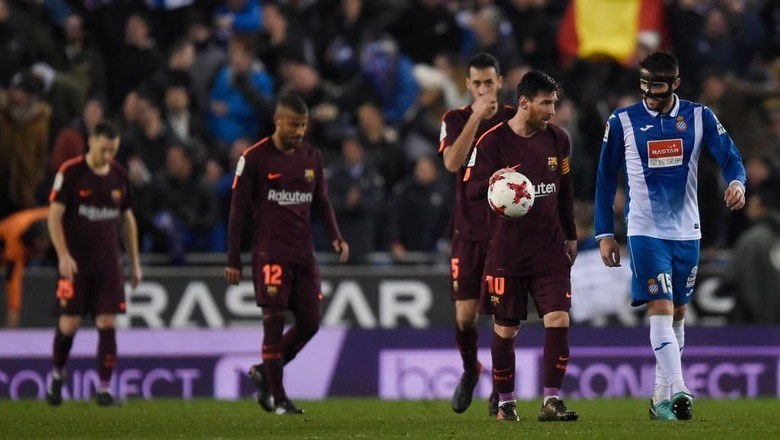 Barcelona Akhirnya Kalah