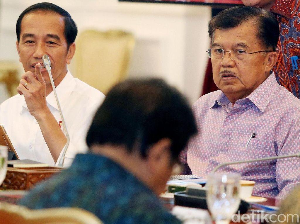 Jokowi Pimpin Rapat soal UIII