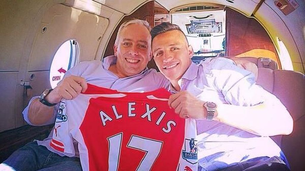 Fernando Felicevich, Sosok di Balik Ramainya Transfer Sanchez