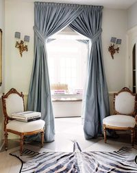 Model Gorden Pintu Tengah tips menata rumah dengan gorden yang jadi tren interior 2018