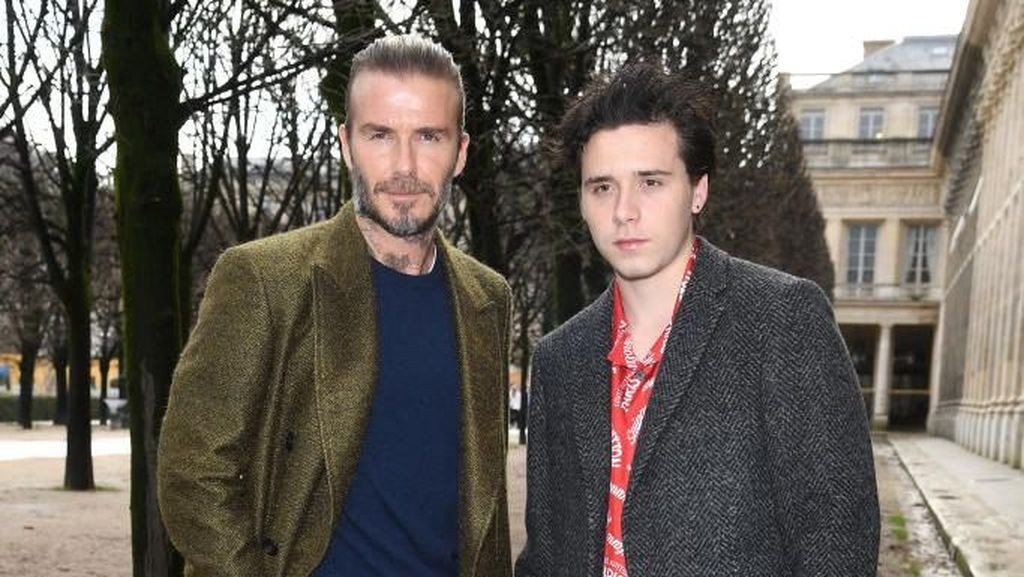 Gaya Kompak David Beckham dan 3 Anaknya yang Tampan, Siapa Terkece?
