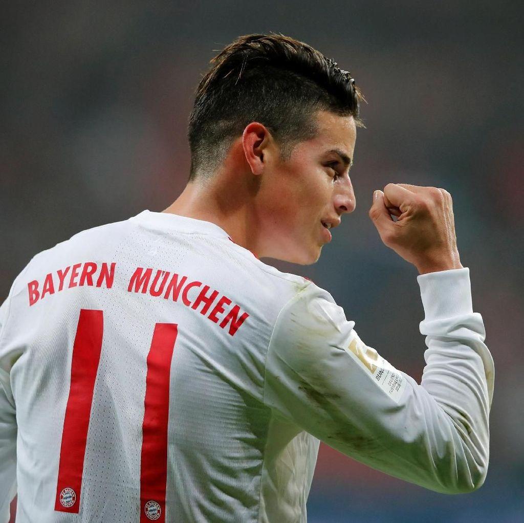James Menemukan Kembali Kebahagiaannya di Bayern