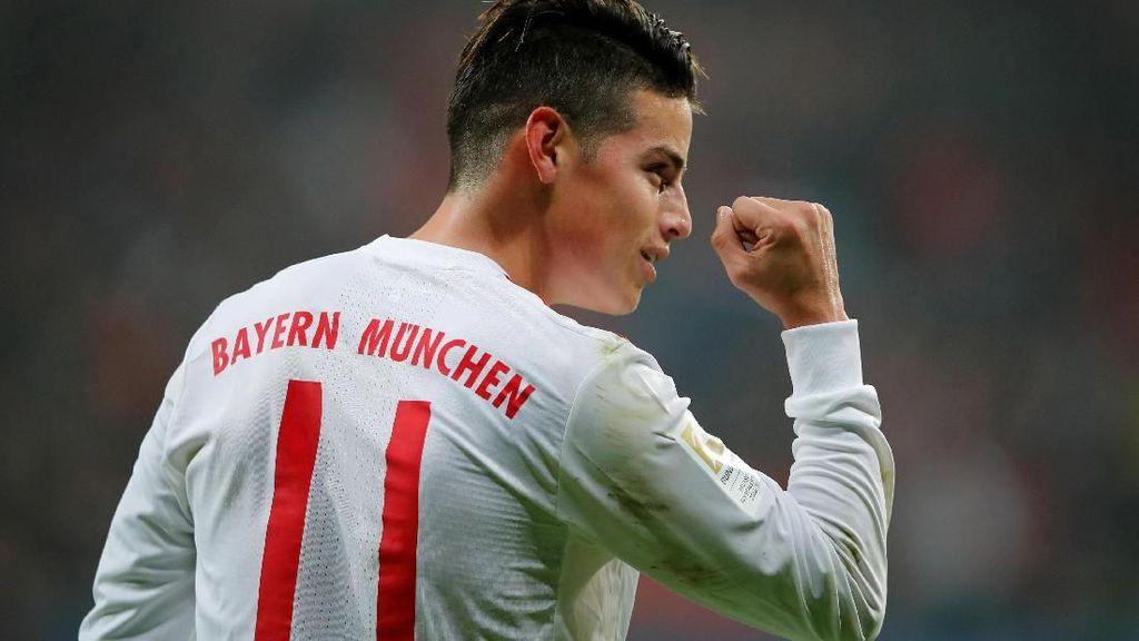 Heynckes: James Rodriguez Sedikit Depresi Saat Pindah dari Madrid
