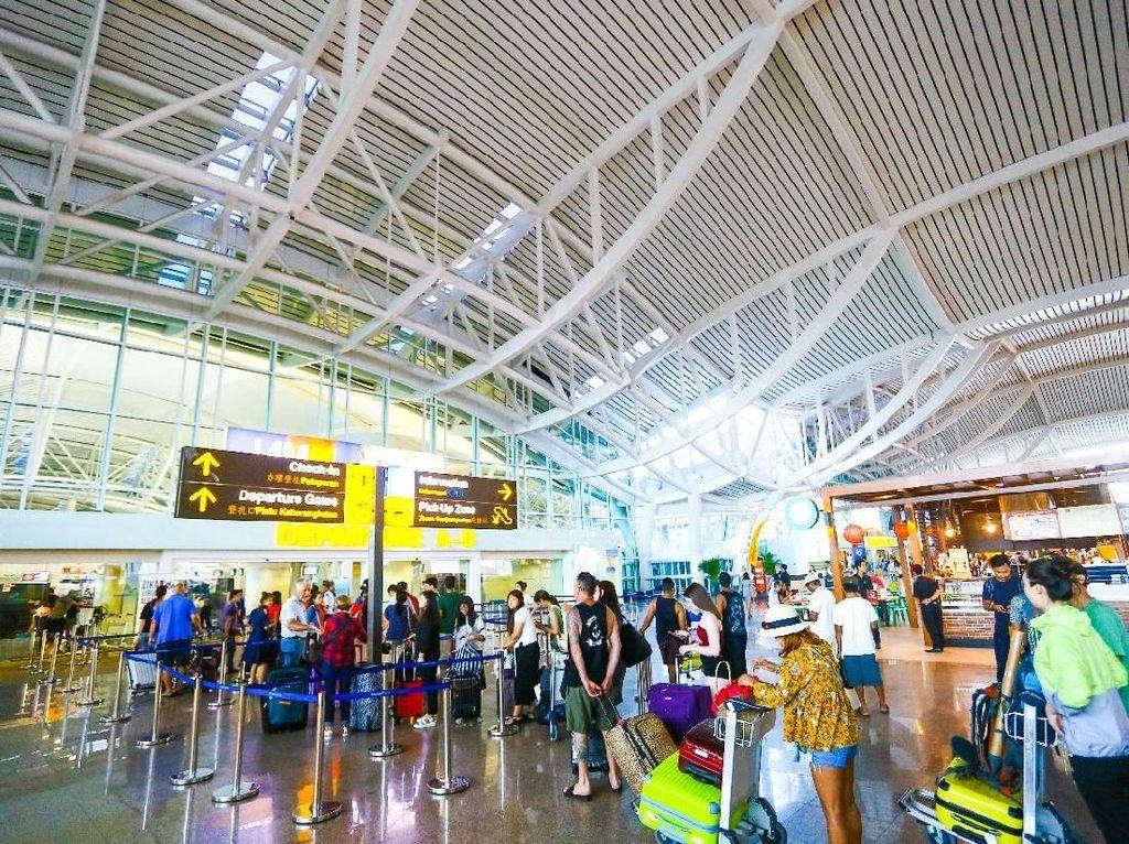 Bandara Ngurah Rai Masih Beroperasi Normal