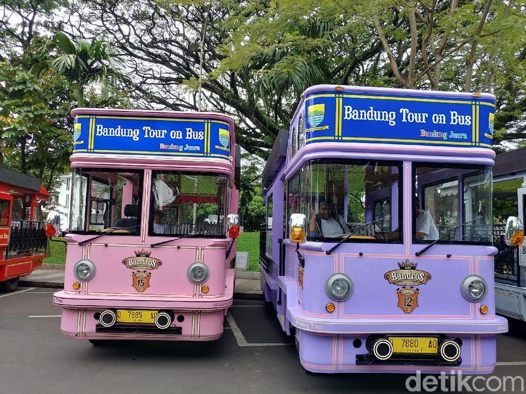 Dishub Kota Bandung Siapkan 5 Rute Wisata Kendaraan Bandros