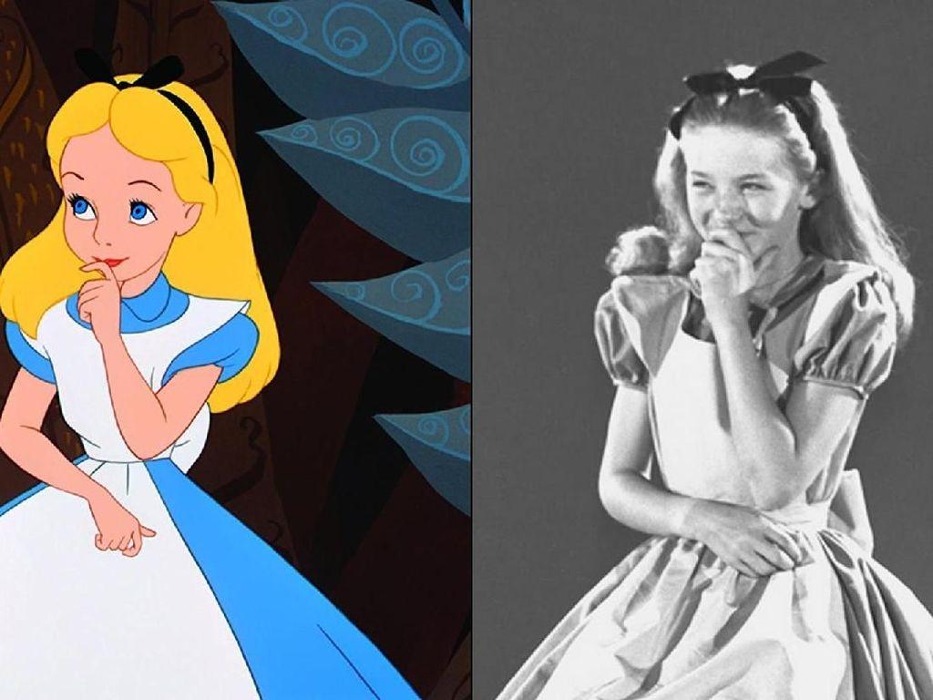 Mirip Banget, Ini Sosok Nyata Alice di Film Kartun Alice In Wonderland