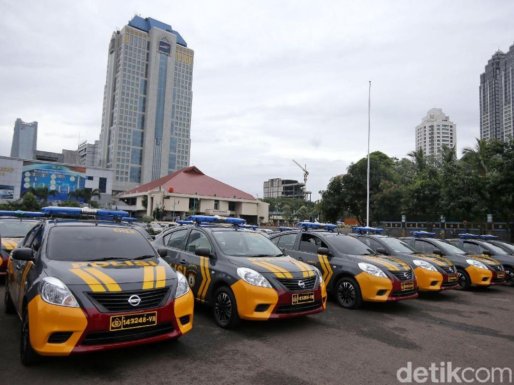 Foto: Polda Metro Punya 150 Mobil Patroli Baru