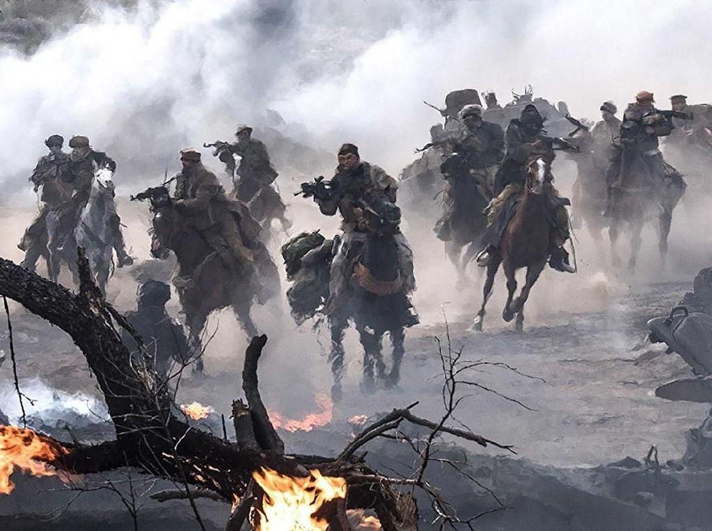 12 Strong Misi Dramatis Hadapi Taliban