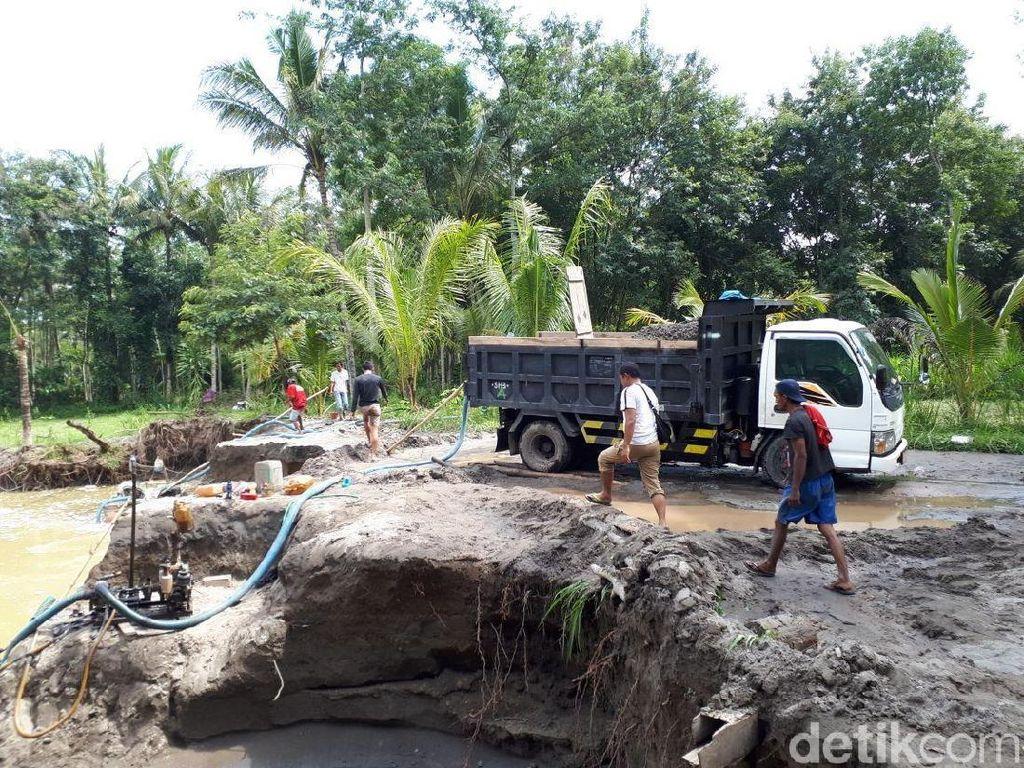 Rusak Lingkungan, Alat Sedot Penambang Pasir Ilegal Disita
