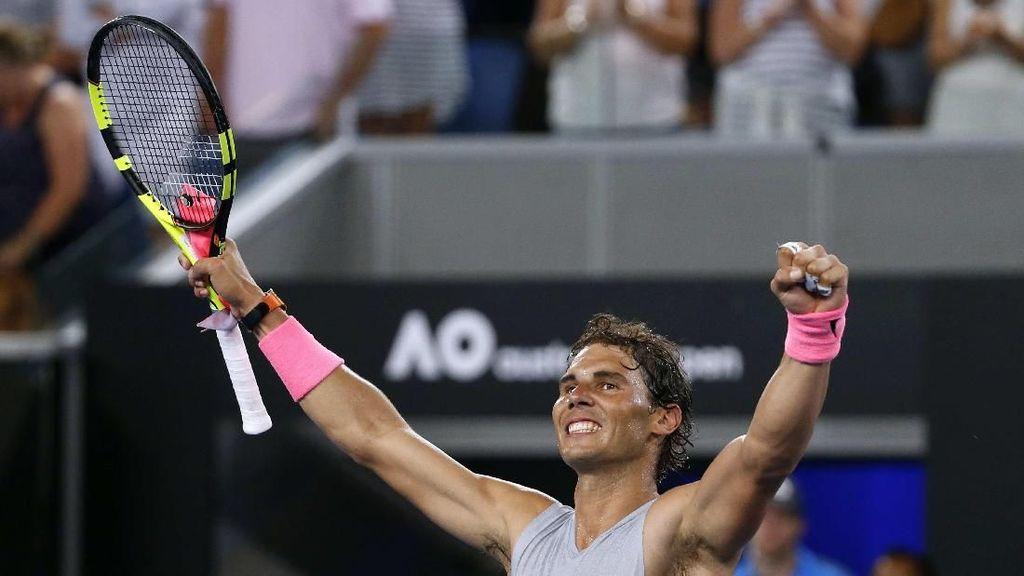 Nadal Belum Kehilangan Set, Lolos ke Babak 16 Besar