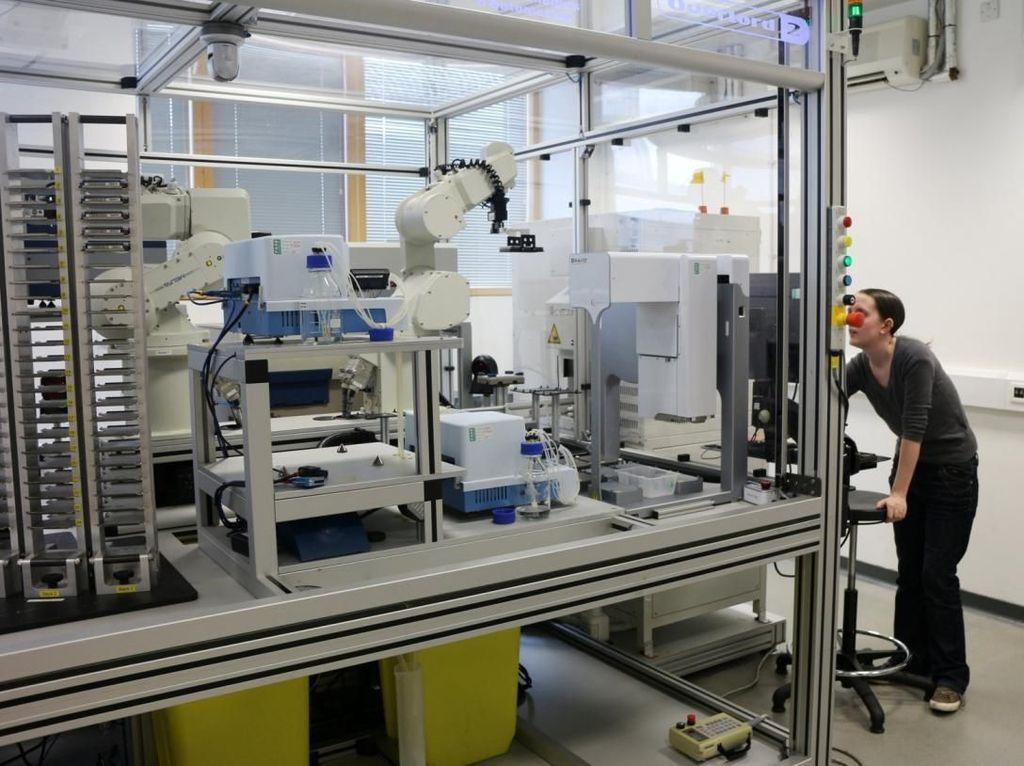 Studi Oleh Robot Temukan Bahan Odol Bisa Jadi Obat Malaria