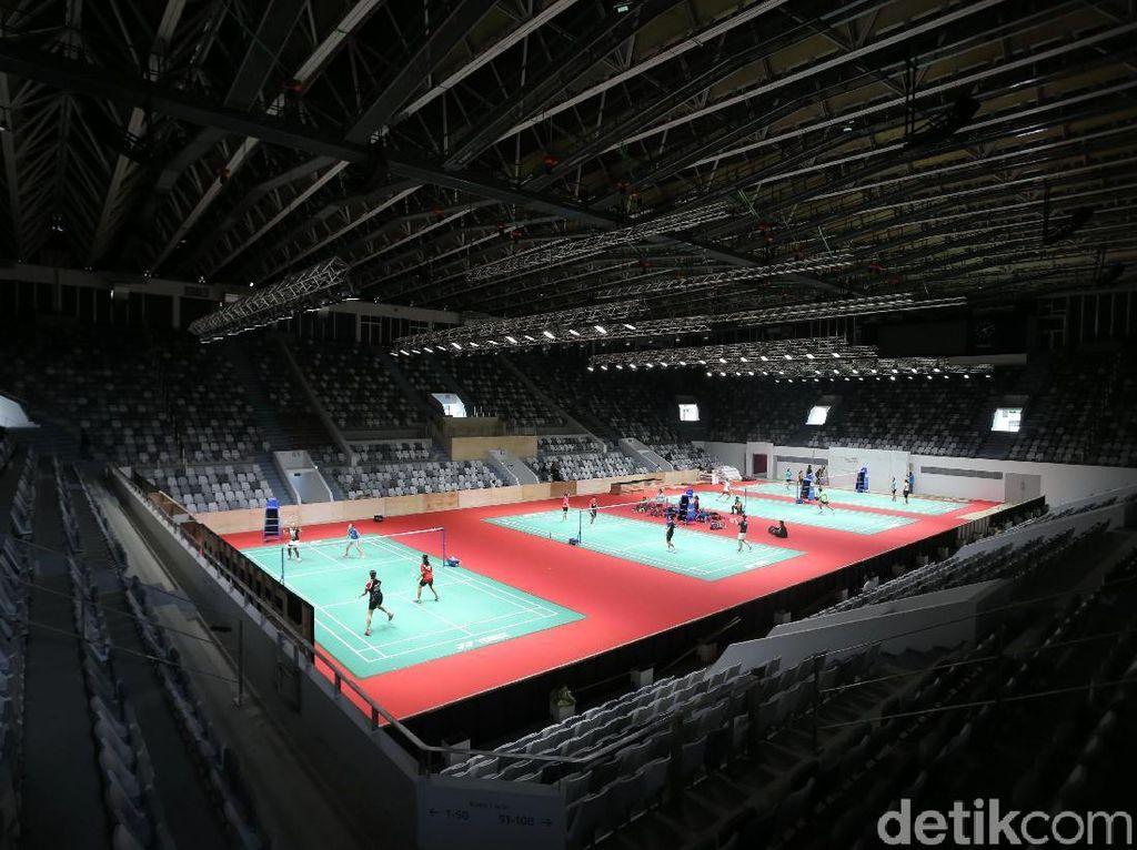 Atlet Pelatnas Jajal Istora Senayan