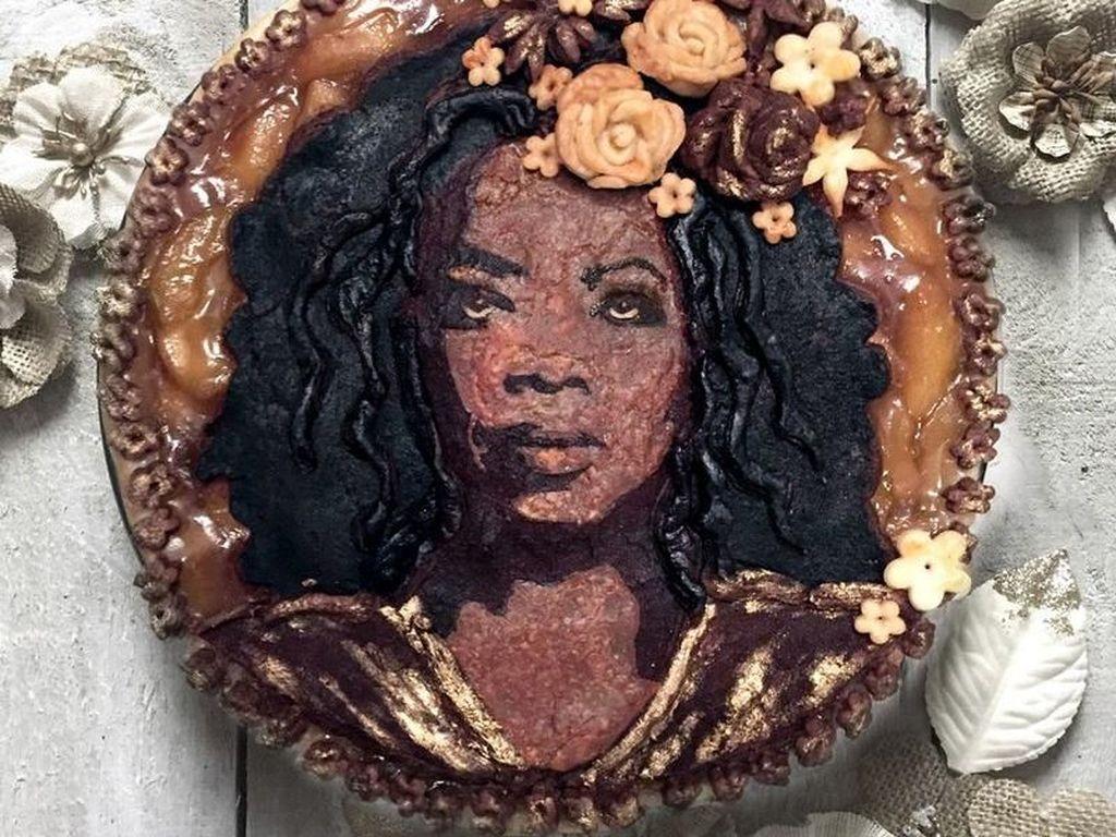 Wow, Ada Pie Bergambar Wajah Oprah Winfrey dan Vin Diesel!