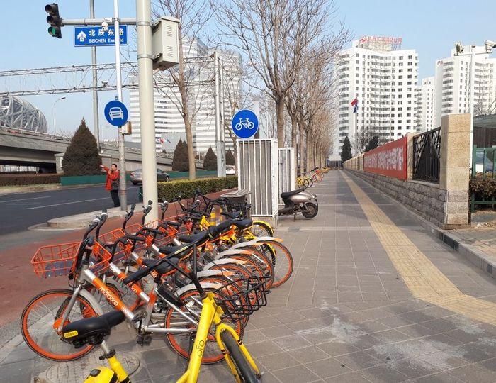 Sepeda online di Beijing. Foto: Fino Yurio Kristo/detikcom