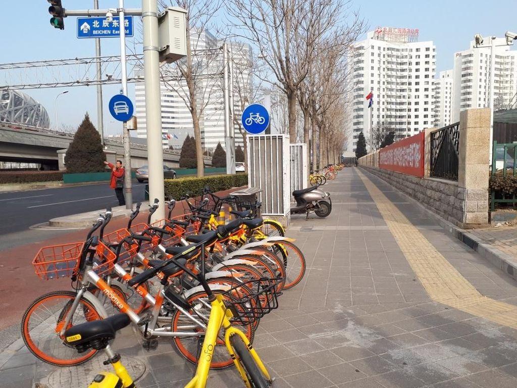 Bisnis Sewa Sepeda Online Ini Laku Rp 37 Triliun