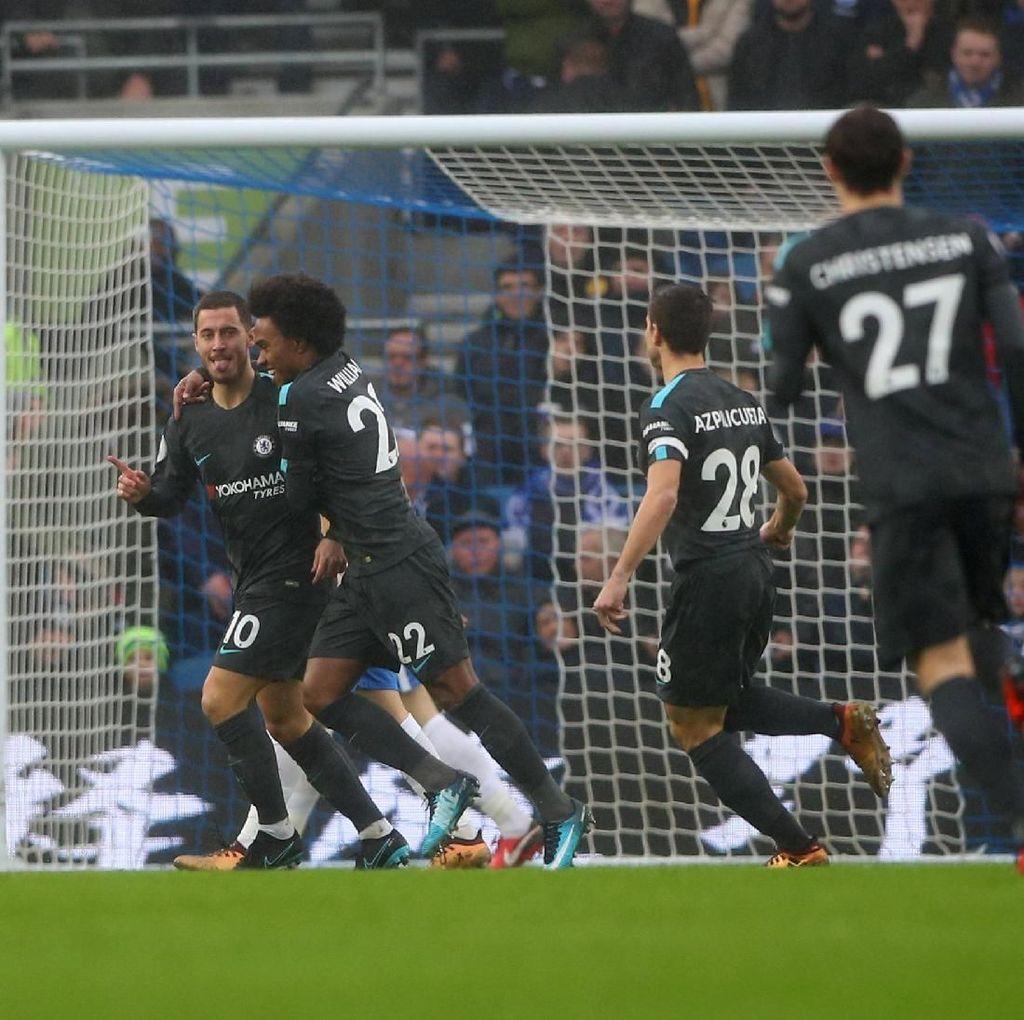 Turun Minum, Chelsea Ungguli Brighton 2-0