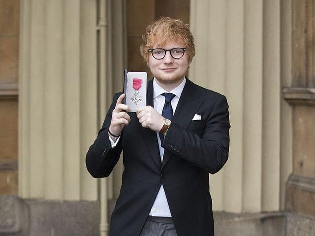 Ed Sheeran Jadi Top Artist, Ini Daftar Lengkap BBMAs 2018