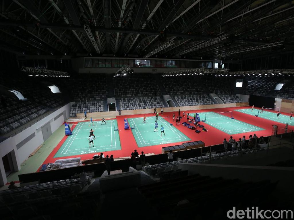 Terganjal Administrasi, Atlet Bulutangkis Jajal Istora H-1 Opening Ceremony