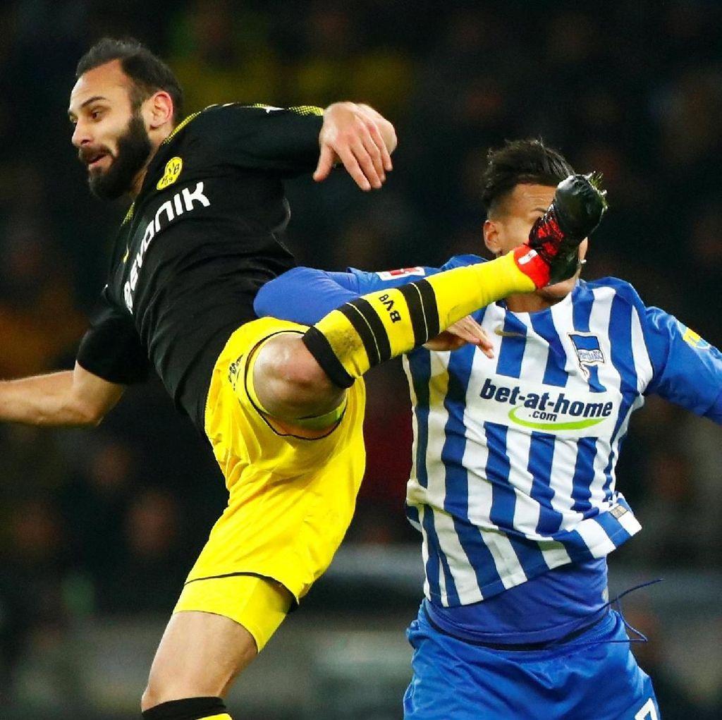 Dortmund Berimbang dengan Hertha 1-1