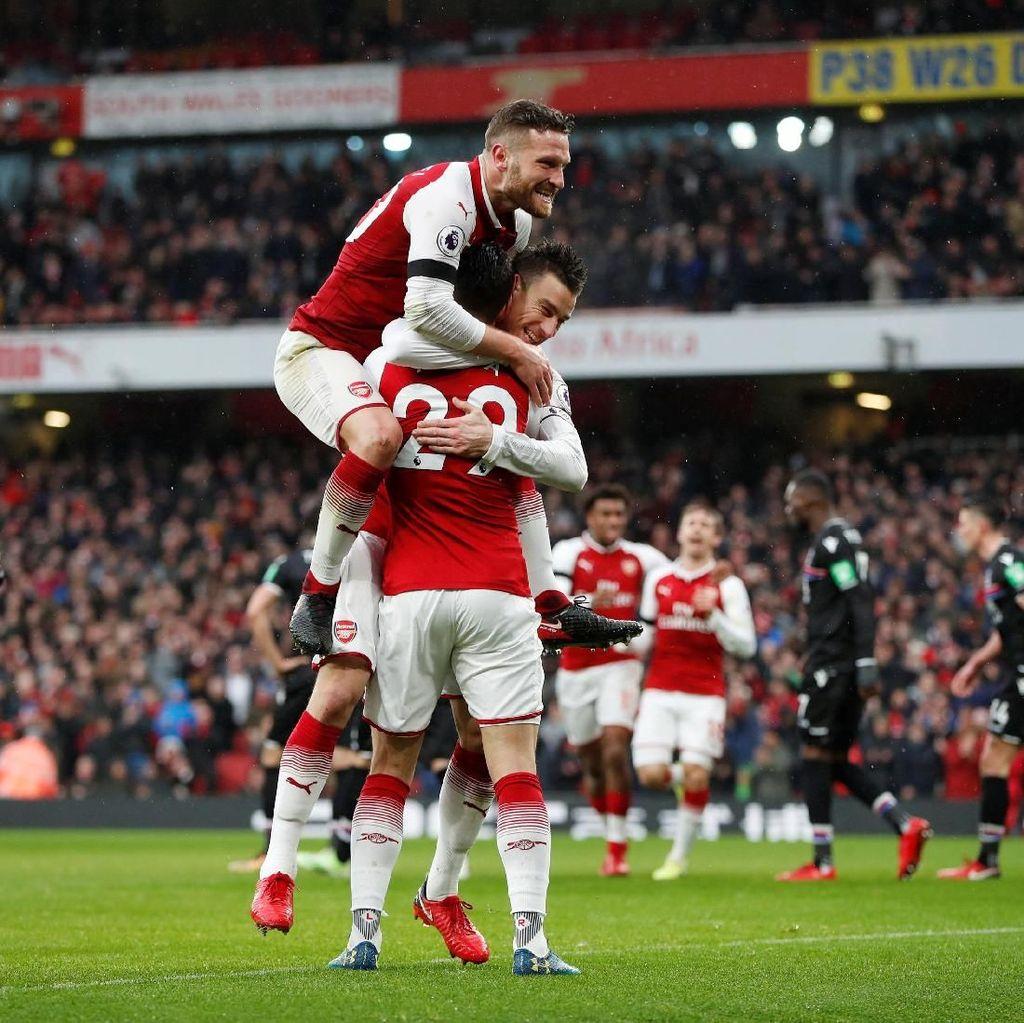 Arsenal Sudah Unggul 4-0 atas Palace