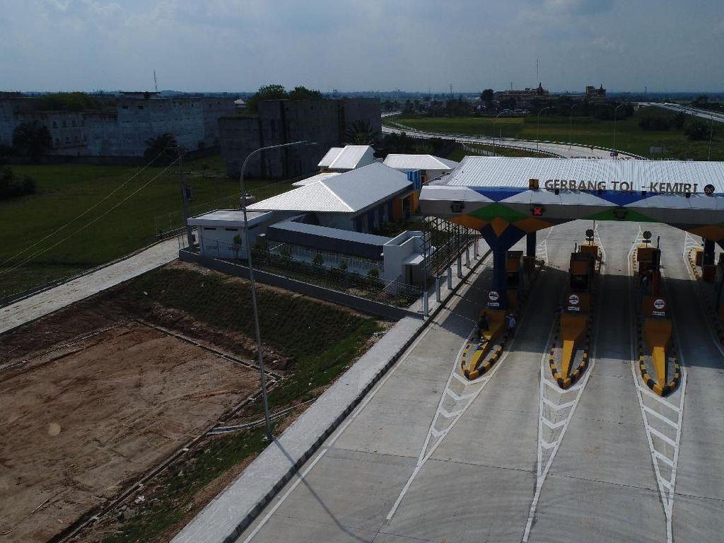 Rest Area Tol Medan-Tebing Tinggi Mulai Diisi Pedagang UMKM