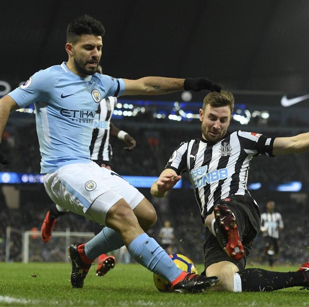 Hat-trick Aguero, Assist De Bruyne, dan Hal-hal Menarik dari City Vs Newcastle