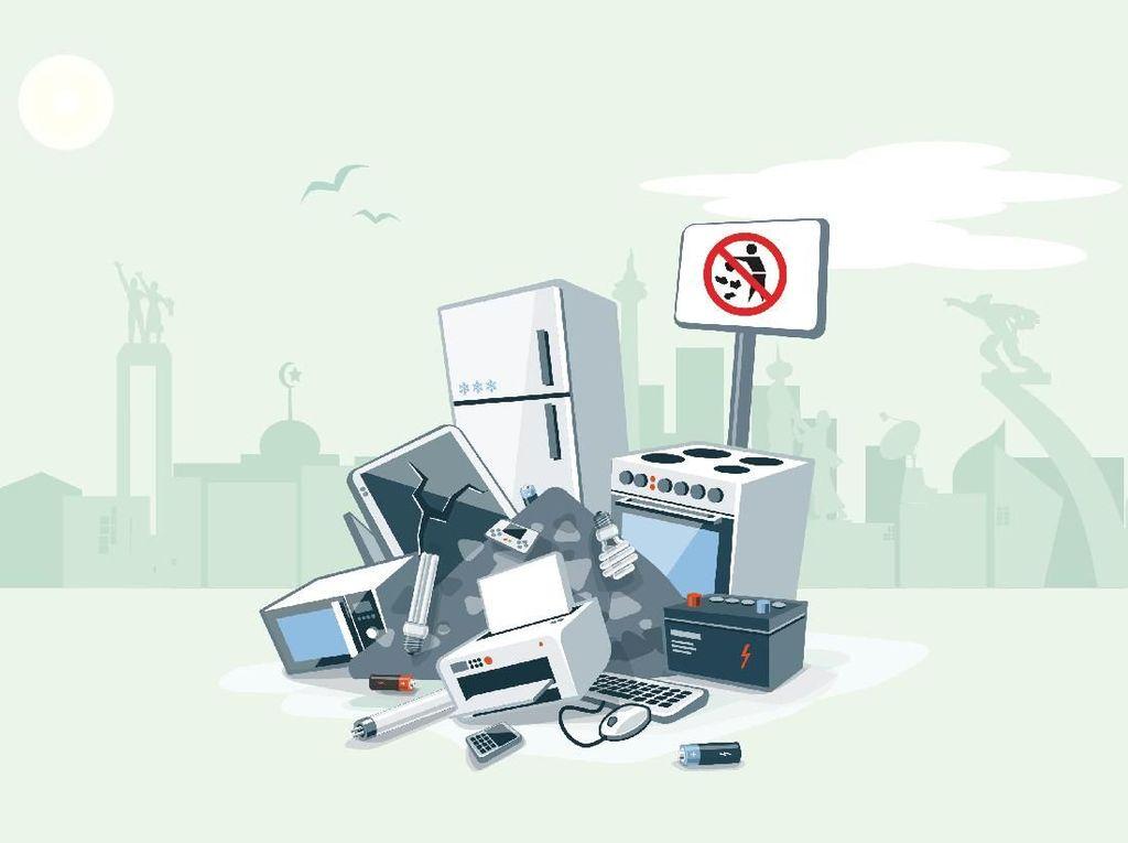 Ke Mana Sampah Elektronik Dibuang
