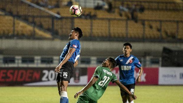 PSMS sukses memenangi pertandingan perempat final melawan Persebaya melalui adu penalti.