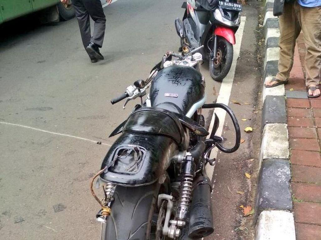 Cerita Saksi Soal Kecelakaan Moge Vs SUV di Pakubuwono
