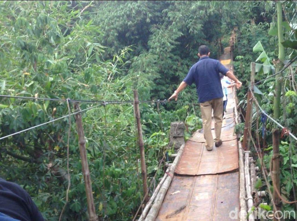 Jembatan Mengerikan di Jagakarsa akan Dibangun Pekan Depan