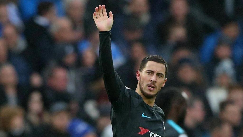Aksi-aksi Gemilang Hazard pada Lawatan Chelsea ke Markas Brighton
