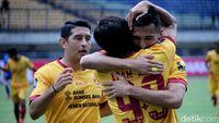 Taklukkan Arema, Sriwijaya FC Tantang Bali United di Semifinal