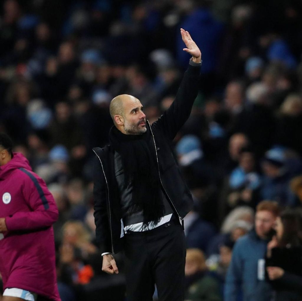 Guardiola: 10 Kemenangan Lagi untuk Juara
