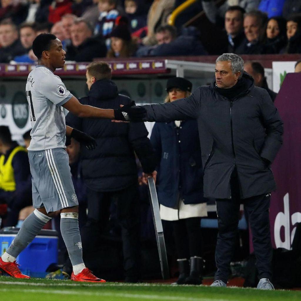 Mourinho Tak Pernah Ragu pada Martial