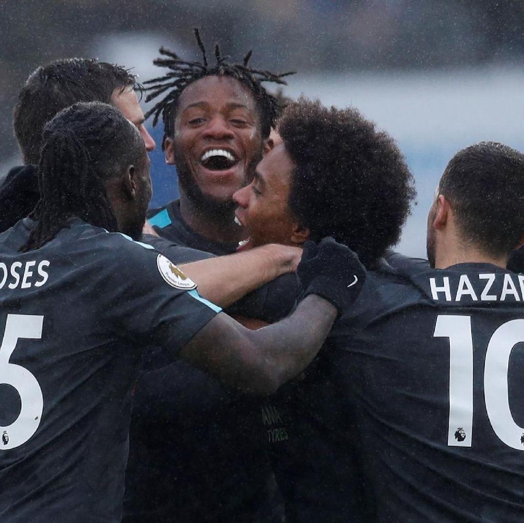 Senangnya Conte, Chelsea Menang di Tengah Banyaknya Cobaan
