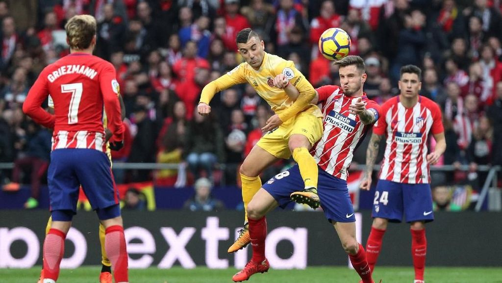 Atletico Madrid vs Girona Selesai 1-1