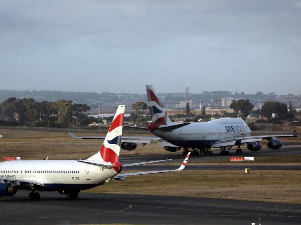Ratu Langit Berguguruan, Kini Giliran B747 British Airways
