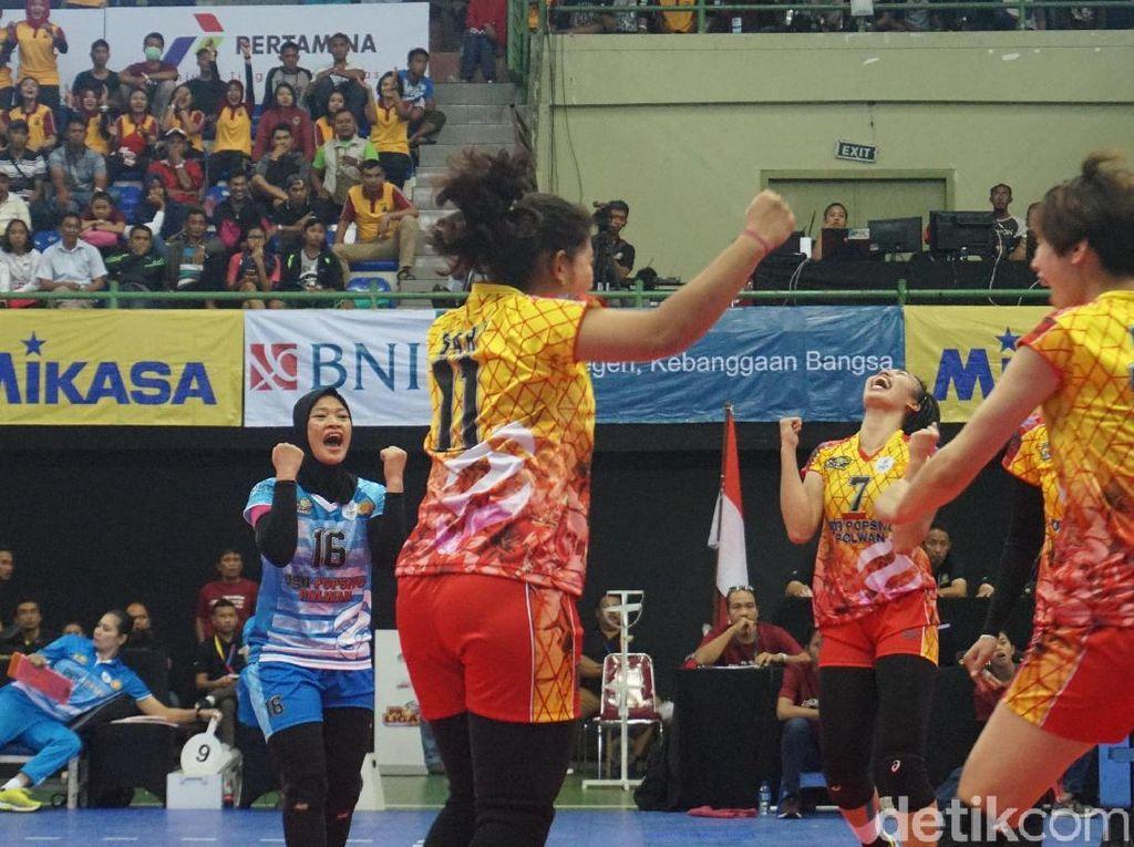 Jakarta PGN Popsivo Polwan Libas Bekasi BVN