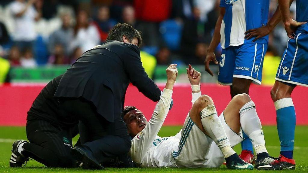 Ronaldo Berdarah-darah, Zidane: Dia Baik-Baik Saja