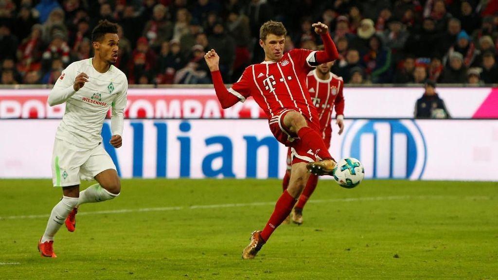 Mueller Tembus 100 Gol di Bundesliga