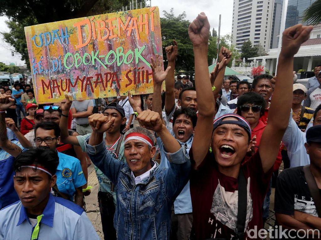 Selain Anies, Sopir Angkot Tn Abang Juga Gugat Mendagri dan Menhub