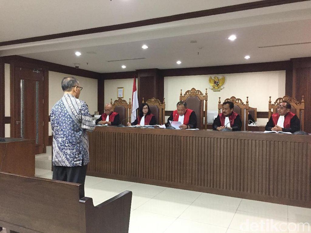 Penyuap Eks Panitera PN Jaksel Divonis 2 Tahun 4 Bulan Bui