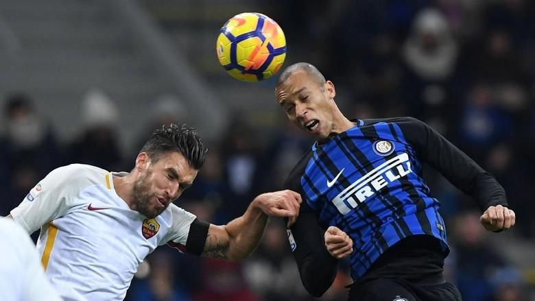 Inter vs Roma Berakhir Seri 1-1