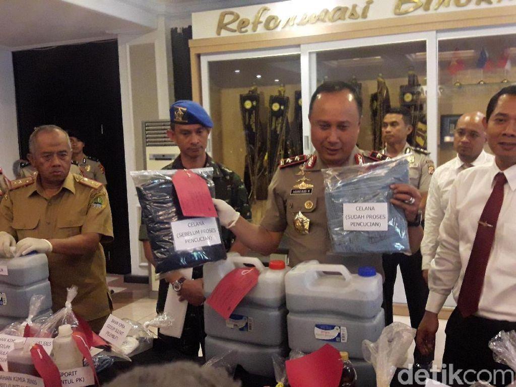 Buang Limbah ke Citarum, Tiga Tempat Laundry Ditutup Polisi