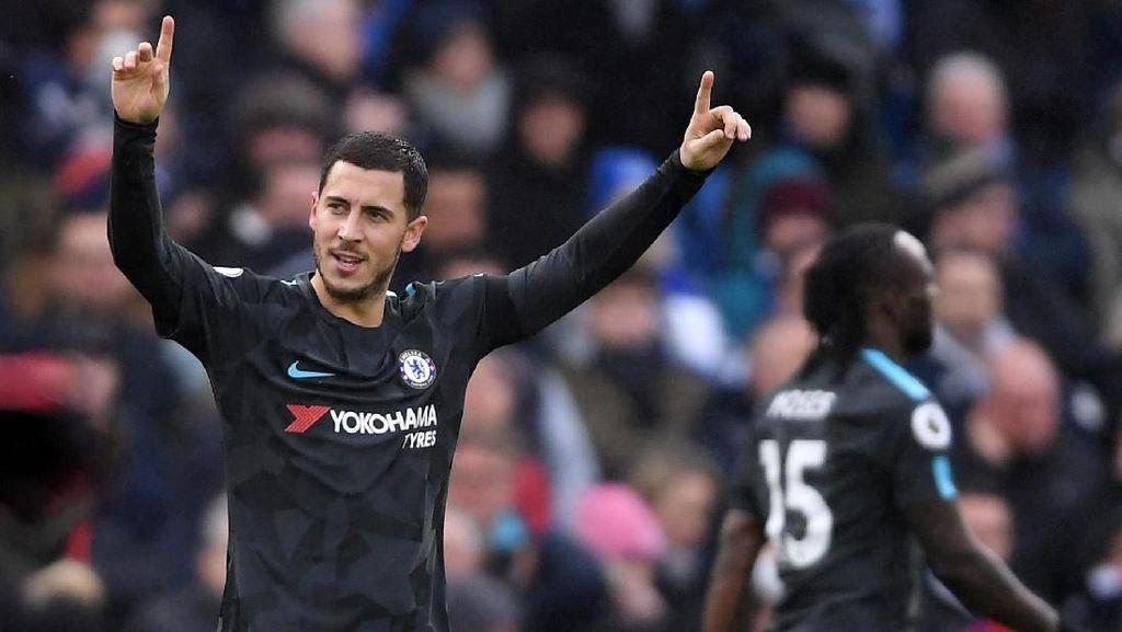 Hazard Merespons Klaim Tolak Tawaran Kontrak Baru dari Chelsea